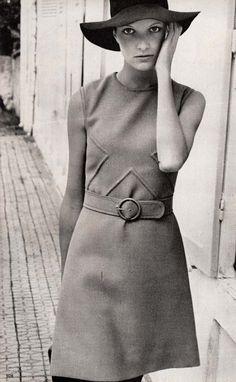 Graziella Fontana,  Marie France - September 1968,  Photographed by Jean Francois Jonvelle