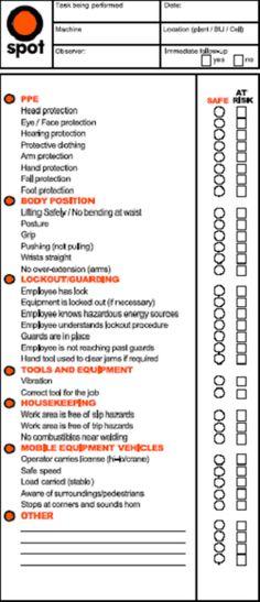 Hazard, assests risk and impact Risk Assessment, JSA and Hazard - jsa form template