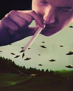 Sniffing ufos