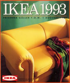 As we all know that Ikea is the largest furnishing company started in Recently, Nordic Style Magazine discovered a collection of old catalog covers, provided by Smörgås Pinners, this collection IKEA catalogs from 1951 to Interior Design Tips, Home Interior, Design Ideas, Ikea Furniture, Furniture Design, Catalogue Ikea, Decoration For Ganpati, Ikea Design, Catalog Cover