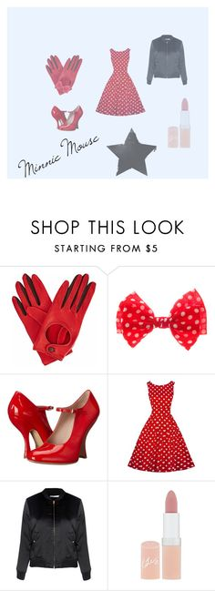 """Minnie Mouse Disney-Bound"" by sineadmurphy152 on Polyvore featuring Gizelle Renee, Vivienne Westwood, Glamorous and Rimmel"