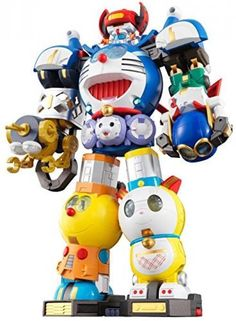Super Chogokin Combination SF Robot Fujiko F Fujio Characters Japan new.