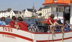 Le passeur entre l'Île-Tudy et Loctudy, Finistère - Brittany