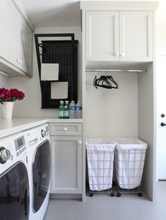 Laundry Room Design Ideas, Pictures, Remodel & Decor #Laundry Room