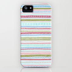 Reddish Pattern iPhone Case