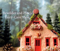 Fairy House of Four Mile Run Miniature HO by bewilderandpine