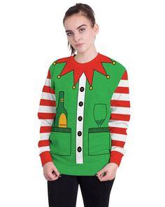 Redshop Christmas Shirt,Womens Christmas Printed Hoodies Sweatshirt Xmas Ladies Tops Jumper Pullover
