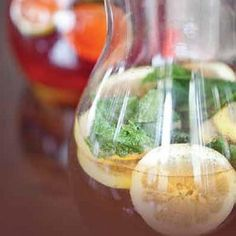 Your Inspiration at Home Lemon Soother Ginger Iced Tea. #YIAH #tea