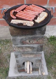 Photo Plancha Rocket stove