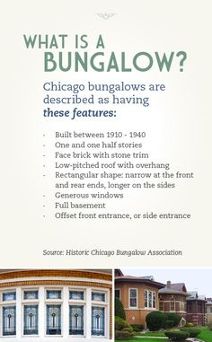 What is a Chicago bungalow - #chicago #chicagobungalow #chicagorealestate