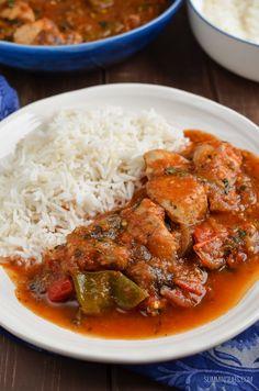 Slimming Eats Mediterranean Chicken Chicken Casserole - gluten free, dairy free, paleo, Whole30, Slimming World and Weight Watchers friendly