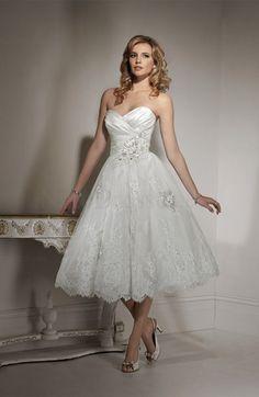 Fairytale Sleeveless Baby Doll Garden Beaded Sweetheart Bridal Gown -US$177.69 - ninedresses.com