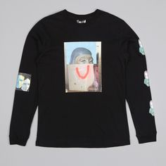 Perks & Mini PAM Tomb Raider L/S Tee - Black (Image 1)