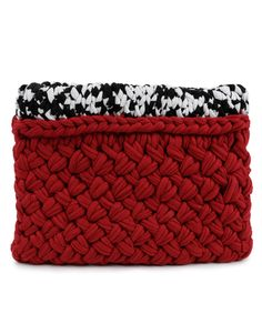 Hold Tight Clutch Duo by Wool and the Gang #knitting #clutch #jersey #yarn