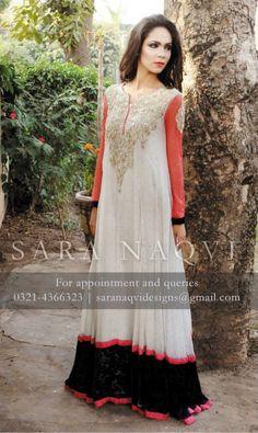 Sara Naqvi Winter Dresses 2014 For Women 007