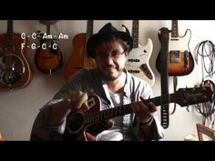 Stand by me (Ben.E King) Part 2/2 - Guitare facile (+TABS) - YouTube