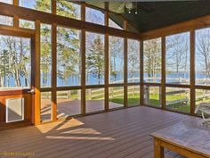 Fantastic ocean views from 1212 Newbury Neck Road in Surry, Maine. This property is listed by The Swan Agency Sotheby's International Realty.