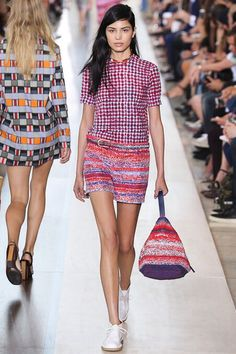 Tory Burch SS15 collection #nyfw