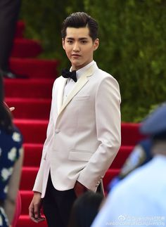 Kris Wu Yifan, Rain and Liu Wen attend The Met Gala in NYC