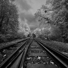 I want this picture to put in my house! LOVE IT! The Surreal, Infrared Photography of David Keochkerian. I think it links in with 'the everyday' theme as its train tracks but i do like how the artist has made this look to make it an exciting photograph. Infrared Photography, Landscape Photography, Portrait Photography, Pink Photography, Landscape Photos, Travel Photography, Beautiful World, Beautiful Places, Beautiful Scenery