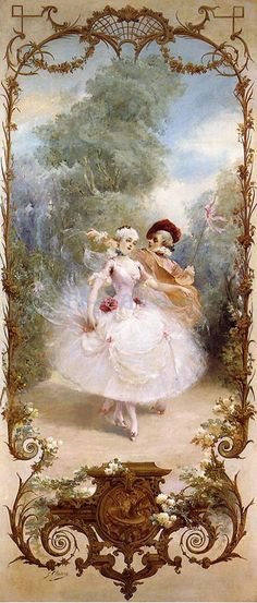 Harmony - Georges Jules Victor Clairin. French painter & illustrator ✿⊱╮