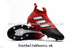 e7009104ecee Big discount with Classic Adidas ACE 17+ Purecontrol FG Football Boots -  Red White