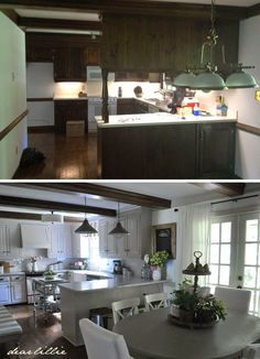 Our Kitchen Makeover (Before and Afters and a Full Source List) by Dear Lillie