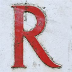 the letter r's -