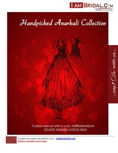 IAMBRIDAL - (Anarkali Wedding Collection)  Handpicked Collection of Anarkali Suits