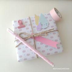 Sweet packaging , paper mariacalcetines