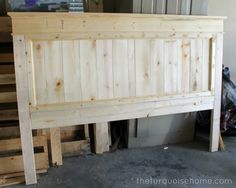 master bed diy headboards   DIY Farmhouse Headboard {how to}   Master Bedroom