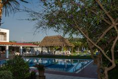 Evelin Hotel || Offering an outdoor pool and a snack bar, Evelin Hotel is 600 metres from the sandy beach of Platanias. It features self-catered accommodation with air conditioning.