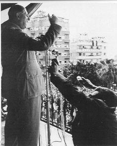 6 juin 1958 La France entière, le monde entier, sont témoins de la preuve que Mostaganem apporte aujourd'hui que tous les Français d'Algérie sont les mêmes Français. Dix millions d&rs…