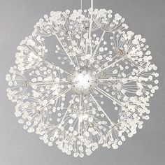 Buy John Lewis Alium Ceiling Light Online at johnlewis.com. It's really beautiful but I don't know where to put it on.