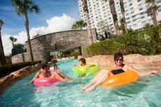 PHOTO TOUR: Which Orlando hotels have the best lazy rivers? Grab an inner tube and check out these fun and relaxing waterways.