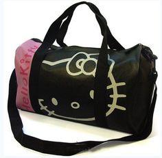 94b01401372 Hello Kitty Bag, Gym Bag, Luggage Bags, Sanrio, Travel Bags, Fashion Bags,  Travelling, Fashion Handbags, Duffle Bags