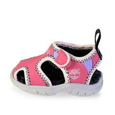 TIMBERLAND LITTLE HARBOR CLOSED TOE TD TODDLER 44857 Pink Sandals Baby Size 5