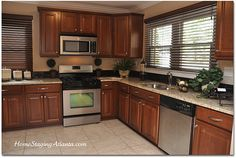 STAGED HOMES | Home Staging Kitchens - Before and After Pictures