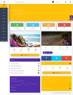 Metrika is a responsive material design built specifically for AngularJs with Bootstrap admin template. #startup #admintemplate #developer ownload Now!