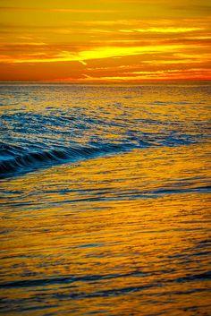 Baja California Sur - Sunrise, Sea of Cortez, East Cape