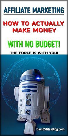 AFFILIATE MARKETING - HOW TO ACTUALLY MAKE MONEY. From: DavidStilesBlog.com