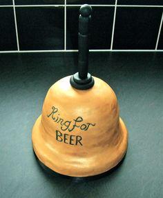 Beer bell cake