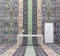 Papéis de parede da coleção Mishmash, design Studio Job para a fabricante NLXL