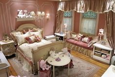 One day if I have a little princess her room will def be inspired by this!