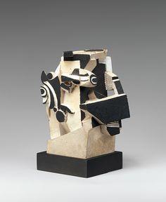 La Fundación Vilcek -Abstracción John Storrs (1885-1956) terracota pintada