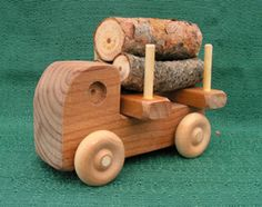 HandMade Small Logger! Child Safe