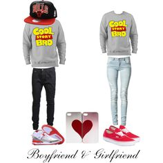 Cool story bro!! Couple outfit<3