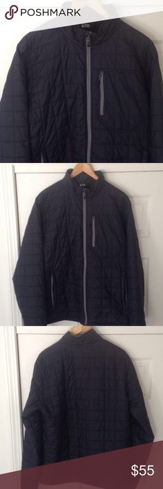 EMS PrimLoft Insulated Full-Zip Jacket Excellent condition. Comparable to the Patagonia Nano Puff jacket. Nice YKK zippers w/ chest pocket and two zippered hand pockets. Cinchable waist to prevent drafts. Eastern Mountain Sports Jackets & Coats Puffers