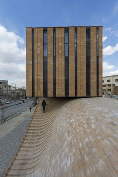 archatlas: TERMEH Office - Retail Building Ahmad Bathaei + Farshad Mehdizadeh Architects This project is located in Hamedan one of Iran historical cities. Hamedan has active urban space which is characterized by squares and an important north-south urban axis which connects them together. This axis cross the site from the western side. The brief was, designing a two floor building with commercial functions. A retail in ground floor and a private office in the first floor. The second ...