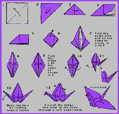 Origami crane. Oy vey, someone talk me out of this idea.